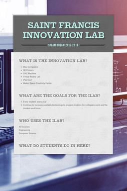 Saint Francis Innovation Lab