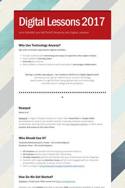 Digital Lessons 2017