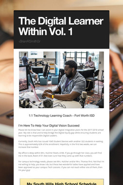 The Digital Learner Within Vol. 1