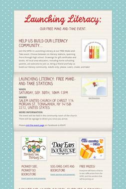 Launching Literacy: