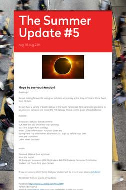 The Summer Update #5