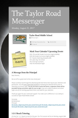 The Taylor Road Messenger