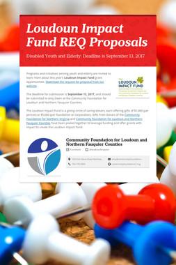 Loudoun Impact Fund REQ Proposals