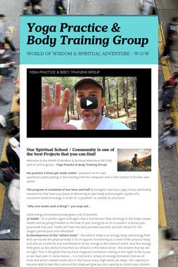Yoga Practice & Body Training Group