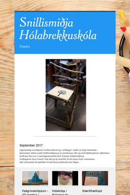 Snillismiðja Hólabrekkuskóla