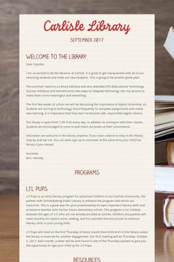 Carlisle Library