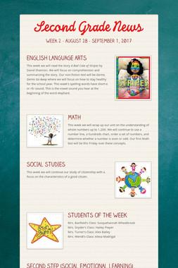 Second Grade News