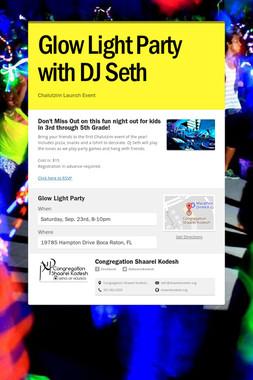 Glow Light Party with DJ Seth