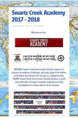 Swartz Creek Academy 2017 - 2018