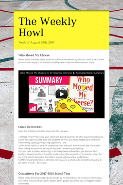 The Weekly Howl