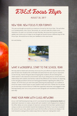 FVES Focus Flyer