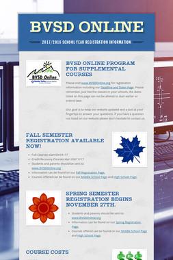 BVSD Online