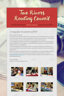 Two Rivers Reading Council