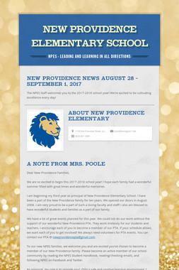 New Providence Elementary School