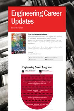 Engineering Career Updates