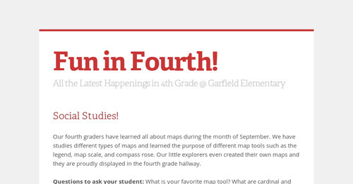 Fun in Fourth! | Smore Newsletters