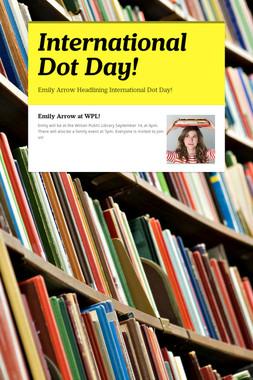International Dot Day!