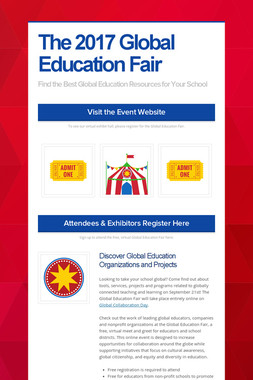 The 2017 Global Education Fair