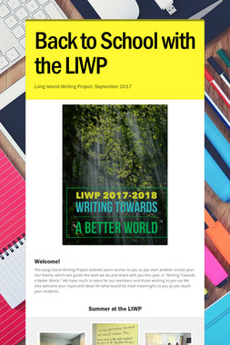 Back to School with the LIWP