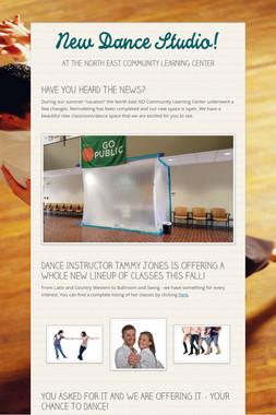 New Dance Studio!
