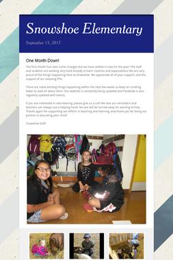Snowshoe Elementary