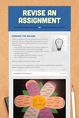 Revise An Assignment