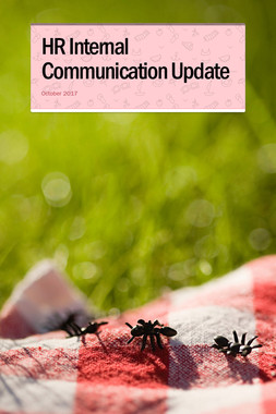 HR Internal Communication Update