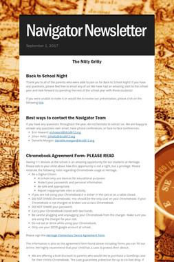 Navigator Newsletter