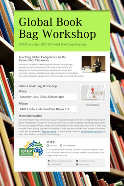 Global Book Bag Workshop
