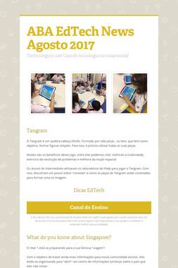 ABA EdTech News  Agosto 2017
