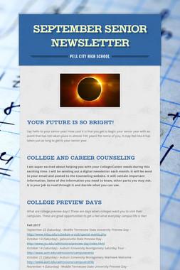 September Senior Newsletter