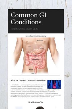 Common GI Conditions