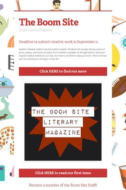 The Boom Site
