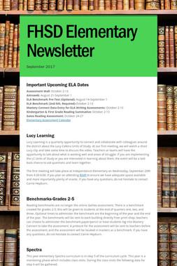 FHSD Elementary Newsletter