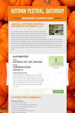 Autumn Festival, Saturday