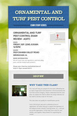Ornamental and Turf Pest Control