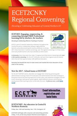 ECET2CNKY Regional Convening