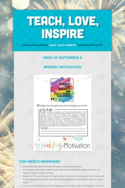 Teach, LOVE, Inspire