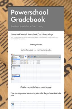 Powerschool Gradebook