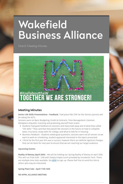Wakefield Business Alliance