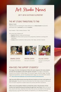 Art Studio News