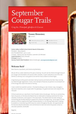 September Cougar Trails