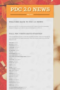 PDC 2.0 News