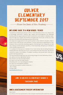 Culver Elementary September 2017
