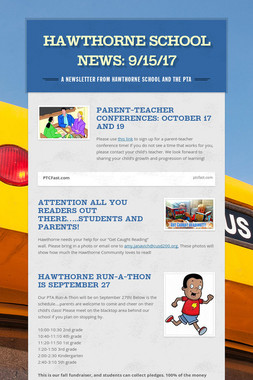 Hawthorne School News: 9/15/17