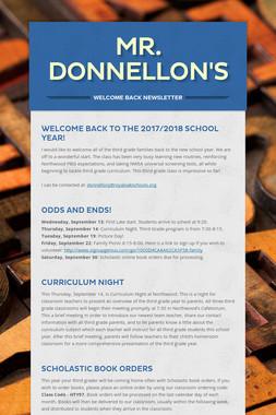 Mr. Donnellon's