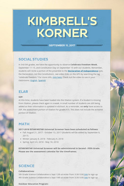 Kimbrell's Korner