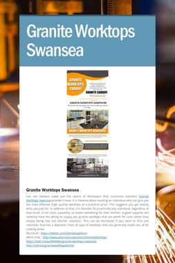 Granite Worktops Swansea
