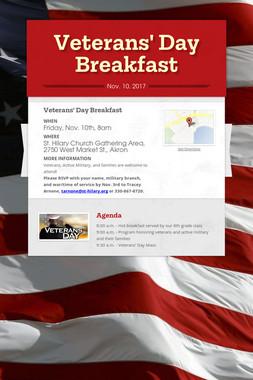 Veterans' Day Breakfast