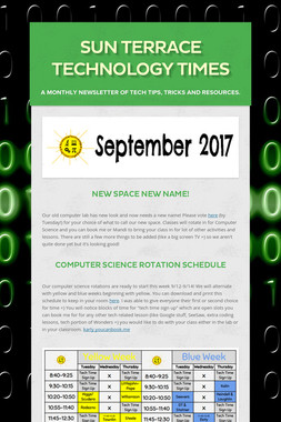 Sun Terrace Technology Times
